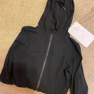 Black Lululemon Align Jacket with Hood